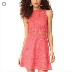 Rebecca Taylor Pink Arella Dress
